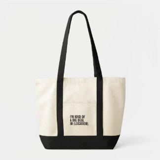Tote Bag Je suis un peu une affaire