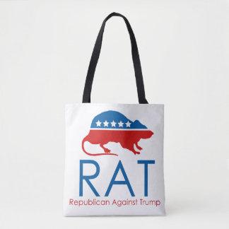 Tote Bag Je suis un R.A.T : Républicain contre l'atout