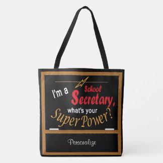 Tote Bag Je suis un secrétaire d'école, ce qui est la votre