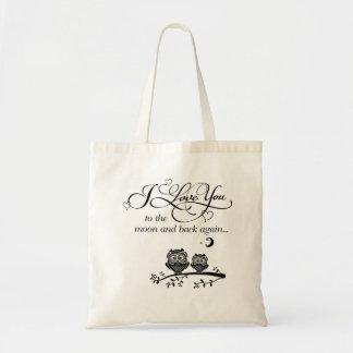 Tote Bag Je t'aime pour musarder et soutenir encore…