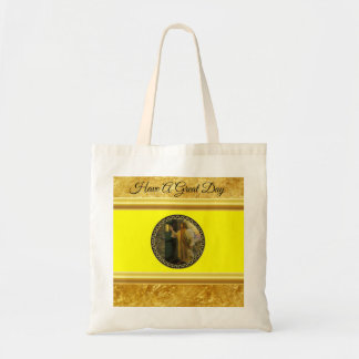 Tote Bag Jésus à votre feuille d'or de porte avec la