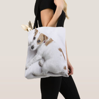 Tote Bag Jeune Jack Russell Terrier