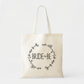 Tote Bag Jeune mariée à être fourre-tout