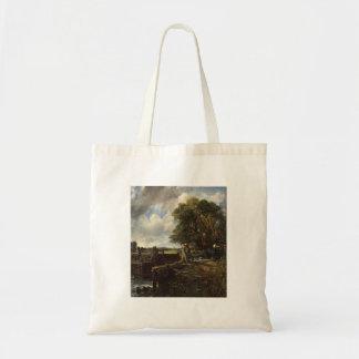 Tote Bag John Constable - la serrure - paysage de campagne