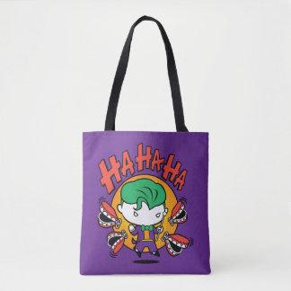 Tote Bag Joker de Chibi avec des dents de jouet