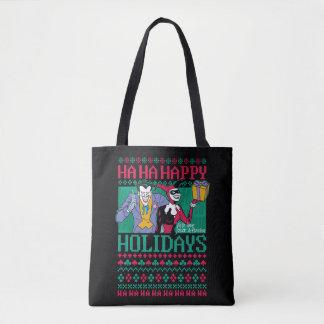 Tote Bag Joker et Harley Quinn de Batman | bonnes fêtes