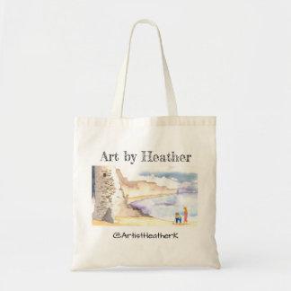 """Tote Bag """"Jour à la plage"""" par art par Heather fourre-tout"""