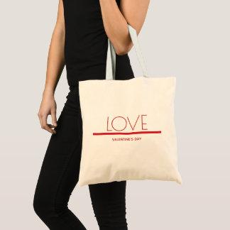 Tote Bag Jour de Valentines d'amour | Fourre-tout de base