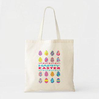 Tote Bag Joyeuses Pâques - oeufs créatifs