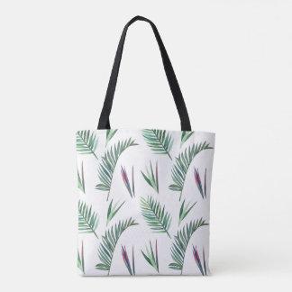 Tote Bag Jungle de fougère et de frondes orientée