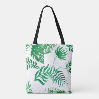Tote Bag Jungle légèrement dispersée Fonds