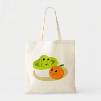 Tote Bag Jus d'orange (orange et presse-fruits)