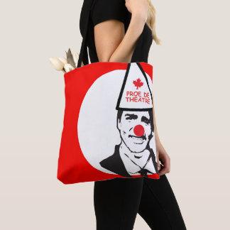 Tote Bag Justin prof. de Théâtre CLown Canada Francais