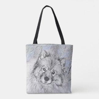 Tote Bag Keeshond (Beth)