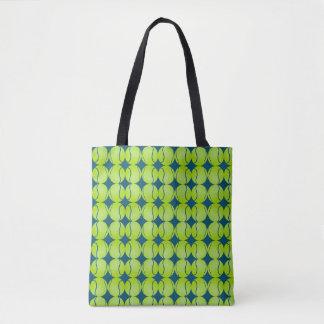 Tote Bag La balle de tennis abstraite folâtre l'art de