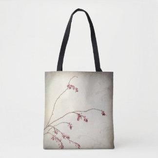 Tote Bag La branche de prunier avec le ressort bourgeonne |