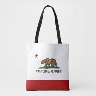 Tote Bag La CALIFORNIE - conception de drapeau -