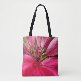 Tote Bag La cendre de transport imprime en rose vif