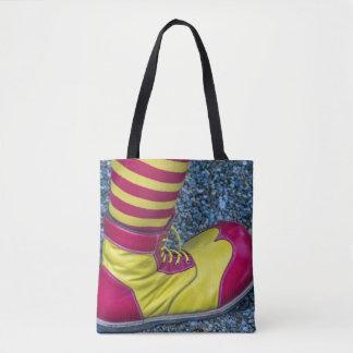 Tote Bag La chaussure de clown et cognent tous plus de -