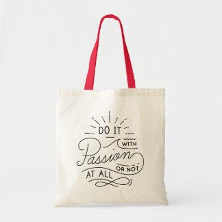 Tote Bag La citation inspirée d'attitude de succès rêve des