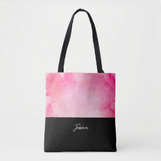 Tote Bag La conception faite sur commande | de roses indien