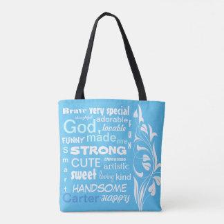 Tote Bag La conception typographique d'ART, personnalisent