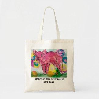Tote Bag La gentillesse et la compassion, donnent la joie,