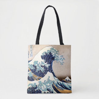 Tote Bag La grande vague outre de Kanagawa