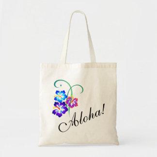 Tote Bag La ketmie hawaïenne fleurit Aloha