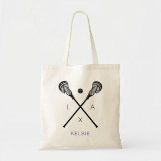 Tote Bag La lacrosse des femmes colle LAX