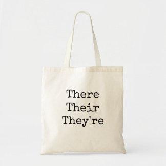 """Tote Bag Là leur ils sont - """"introduit au clavier la"""