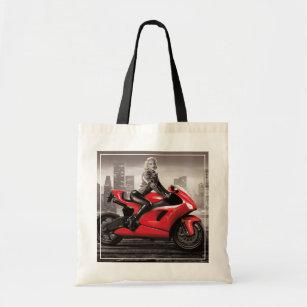 Tote Bag La moto de Marilyn