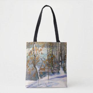 Tote Bag La neige est tombée