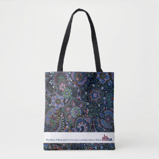 Tote Bag LA peinte à la main Fourre-tout de musée de
