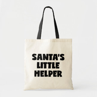 Tote Bag La petite aide de Père Noël
