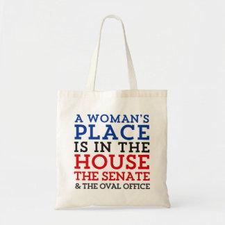 Tote Bag La place d'une femme est dans la Chambre
