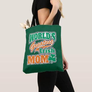 Tote Bag La plus grande maman irlandaise du monde