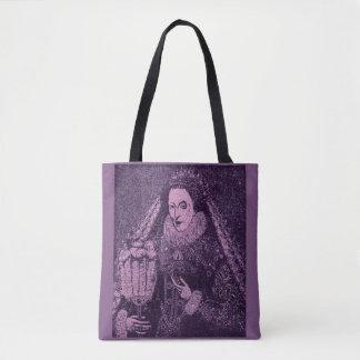 Tote Bag La Reine Elizabeth I en lavande