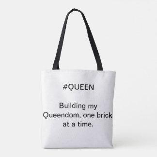 Tote Bag La Reine Fourre-tout - royaume de bâtiment