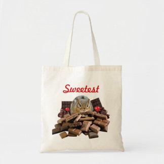 Tote Bag La tamia de chocolat de jour la plus douce de