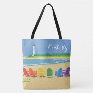 Tote Bag La vie de plage personnalisée