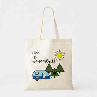 Tote Bag la vie est wanderfull ! fourre-tout