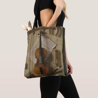 Tote Bag La vie, violon et musique toujours