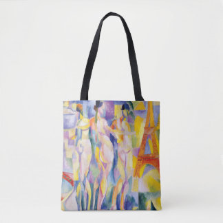 Tote Bag La Ville De Paris par Robert Delaunay