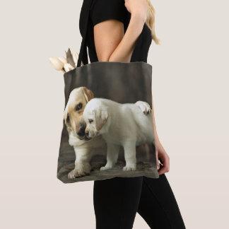 Tote Bag Labrador retriever jaune