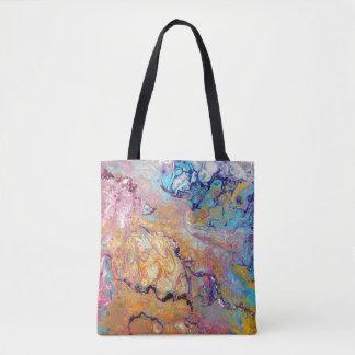 Tote Bag L'acrylique de Cremecycle versent partout