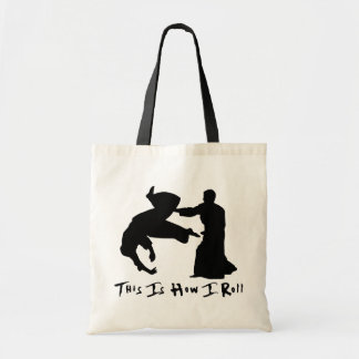 Tote Bag L'Aikido ceci est comment je roule