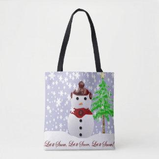 Tote Bag Laissez lui neiger