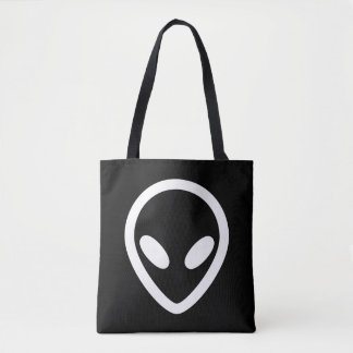 Tote Bag L'alien minimaliste vous observe