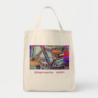 Tote Bag L'AMOUR poursuit FOURRE-TOUT